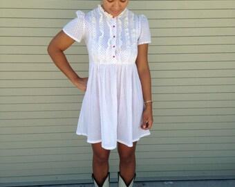 Vintage 1960's babydoll dress