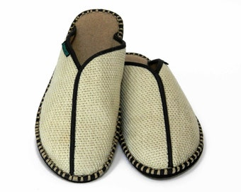 Men's Slipper Flax