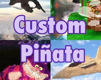 Custom Made to Order Pinata