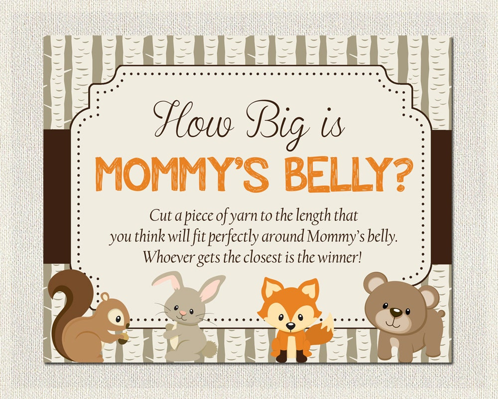 Challenger image intended for how big is mommy's belly free printable