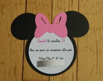 Disney party invites