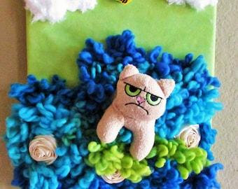 Grumpy Cat Wall Art