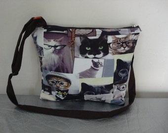 shoulder bag cats