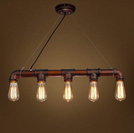 Items similar to Industrial pipe light tube vintiage