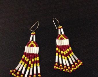 Multi-Colored Vintage Earrings
