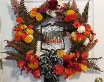 Halloween / Fall Wreath