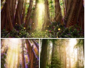 Forest Print Set