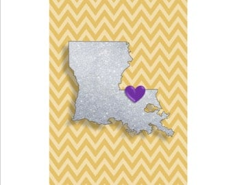 "Louisiana State University | INSTANT Download | LSU | Tigers | Go Tigers | Louisiana State University Tigers | Baton Rouge | 5""x7"""