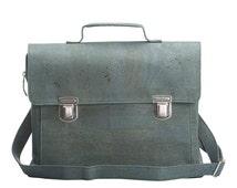 Essential cork briefcase