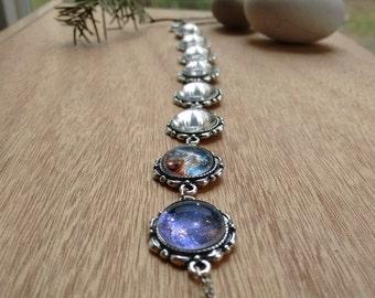 Galaxy necklace, galaxy jewelry, nebula necklace, stars necklace, nebula jewelry, cosmic pendant, interstellar necklace, galaxy necklace