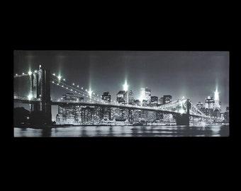 New York Light Up Canvas