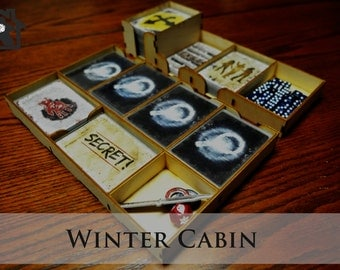 Dead of Winter™ compatible Wooden Insert / Organizer - The Winter Cabin
