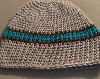 """Handcrafted Beanie - """"Riptide"""""""