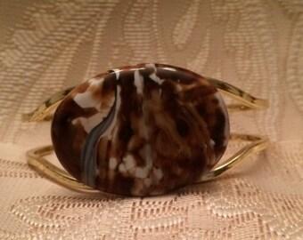 Bronze Zebra Jasper Bracelet