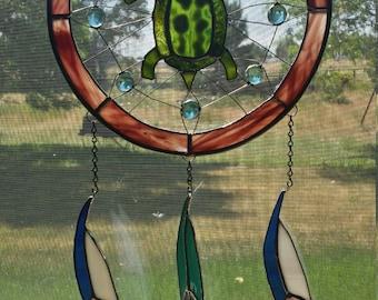 Sun Catcher / Stained Glass Dream Catcher