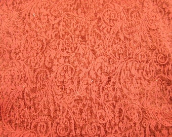 Red upholstry fabric