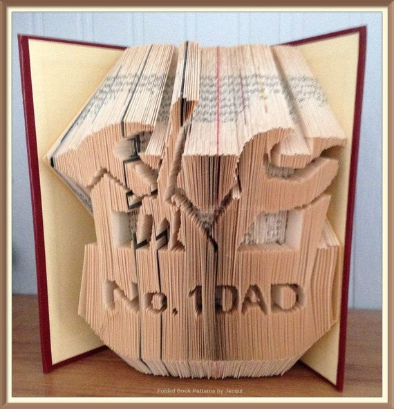 how to make my own book folding pattern