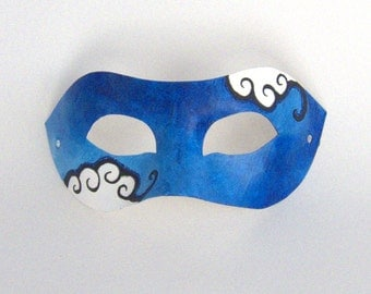 Blue Clouds Mask