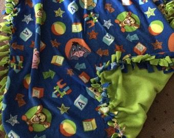 No Sew winnie the pooh Fleece blanket