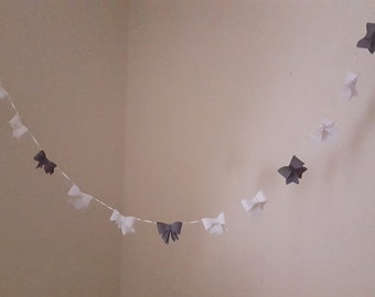 Baby Bow Garland Nursery Decoration