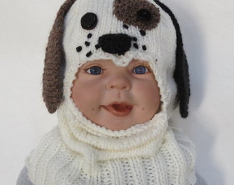 Knit dog balaclava Etsy