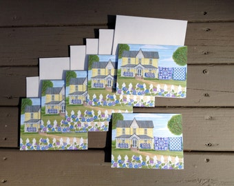 Morning Glory Quilts Notecards