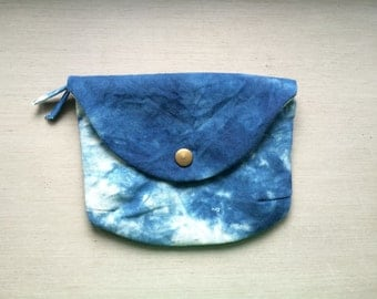 Small Envelope Clutch - Indigo