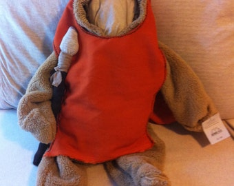 Custom Baby Ewok Hood with Spear ((( Bear Suit NOT included )))