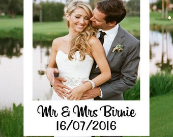 Custom Instagram Photo Booth Frame, Wedding Photo Frames, Digital Download, Instagram Frames, Photo Booth Props