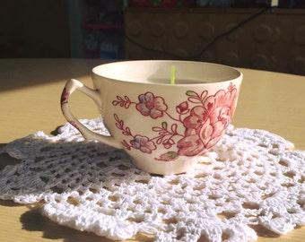 vanilla teacup candle