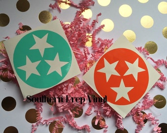 Tri star decal