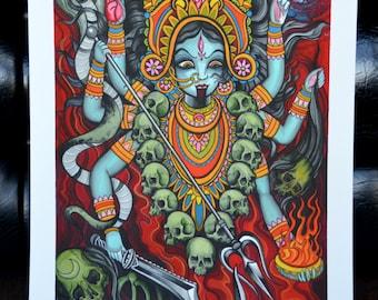Kali Watercolor Print