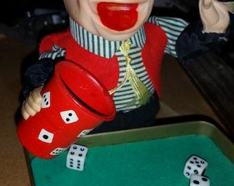 1950's Cragstan Crapshooter Vintage Toy