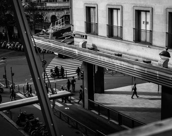Paris France Fine Art Photography, Les Grands Magasins