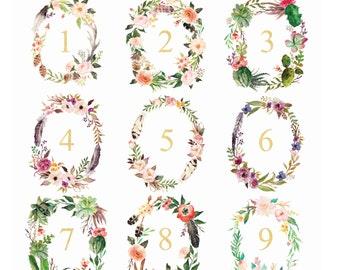 Floral Wreath Print, Floral Wreath Monogram, Watercolor Wreath, Wedding Monogram, Monogram Letters, Monogram Wall Decor,Floral Wreath Letter