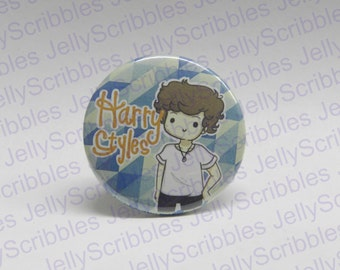 Harry Styles One Direction Pin