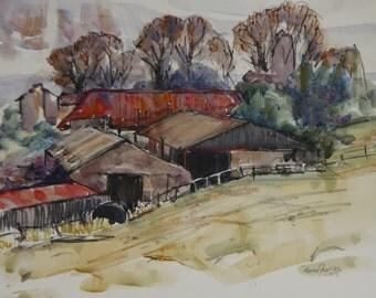 Spring Farm barns 1