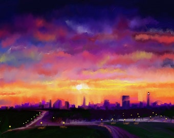 Primrose Hill London (1 of 50) Limited Edition, signed