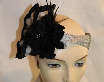 The Flapper handmade headpiece