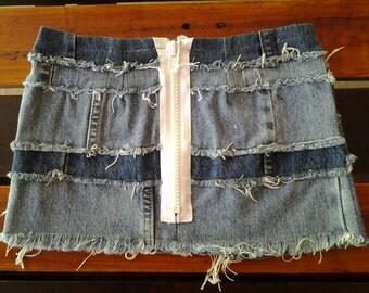 Girls Denim Skirt 012