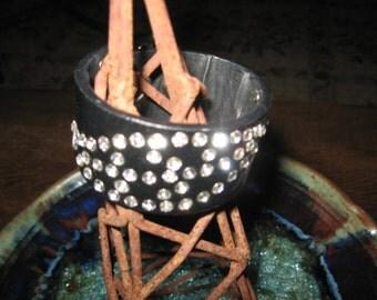 Rhinestone Bracelet Upscaled Belt...Fun Dress Or Play