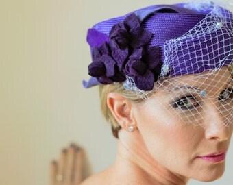 Purple Garden Hat