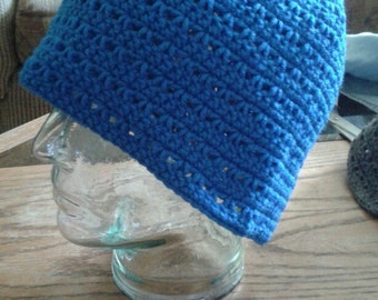 Handcrafted crocheted hats and bags