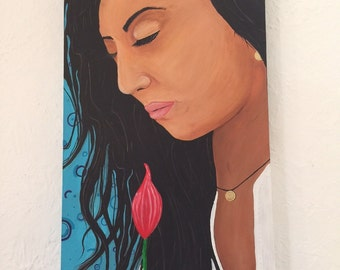 """Acrylic painting 