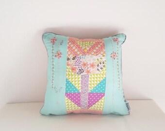 Wild-Flower Square Cushion