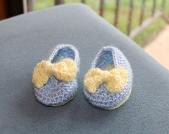 Baby Booties- Lemon Drop