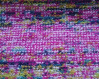 1.50 m BOUCLE-knit pink multicolor