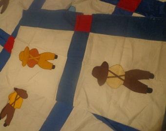Huge Farm Boy Applique #3