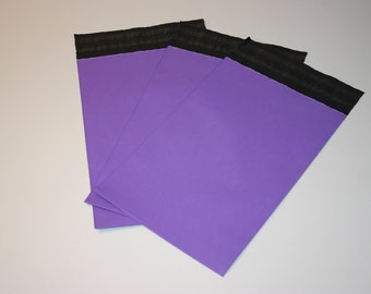 200 Purple 6x9 Poly Mailers Self Sealing Envelopes Shipping Bags Spring Easter
