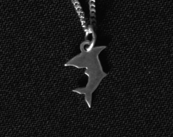 DR' / Silver / Sterling Silver / Gold / Handmade / Shark / Mermaid / Nature